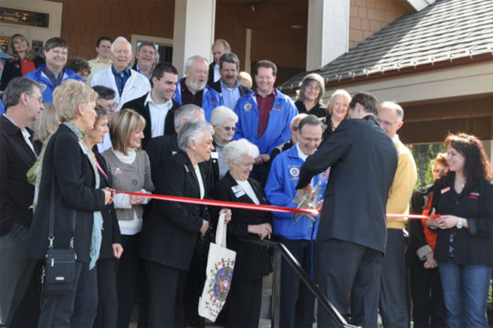 2010 Photo of Escape Ribbon Cutting